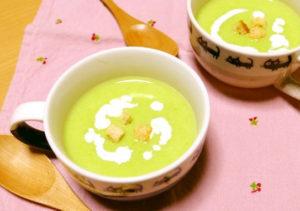 グリーンピーススープ