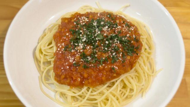 ミートスパゲッティ