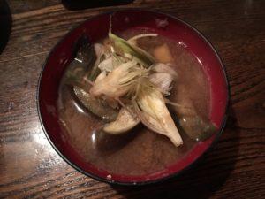 夏野菜の味噌汁