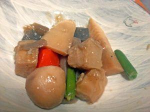 里芋と根菜の煮物
