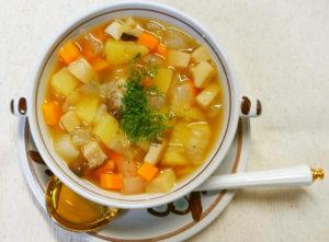 野菜コロコロスープ