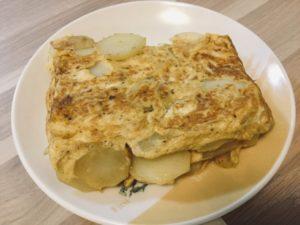 スペイン風卵焼き