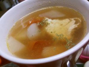 厚揚げ入りスープ