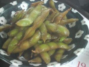 枝豆の醤油煮