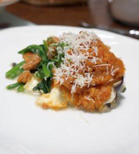 野菜とチーズのオーブン焼き