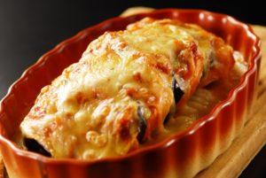 なすとチーズのオーブン焼き