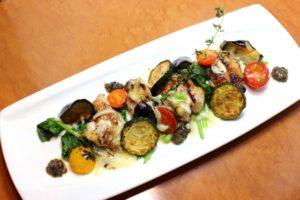 カラフル野菜のオーブン焼き
