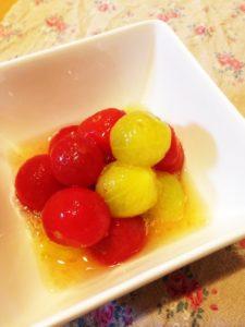 プチトマトのレモン漬け