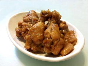 鶏肉のポン酢煮